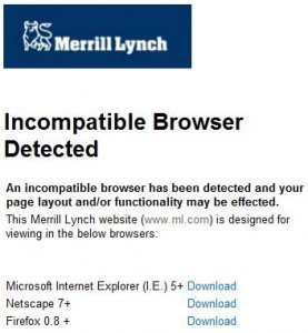 Merrill Lynch has a webamateur!