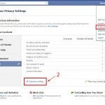 Where to find the settings to shut off Facebook Places