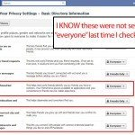 Even more privacy settings turned back on by Facebook