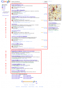 Google Mixes in Local Results and Reviews