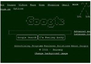 Chrome Light Text Browser