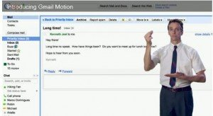 Google Gmail Motion