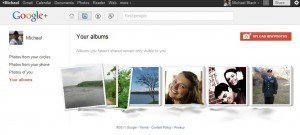Google plus picture albums