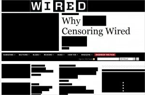 Wired gets censored in protest of SOPA