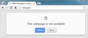 nasa.gov along with many other government sites currently 404s!