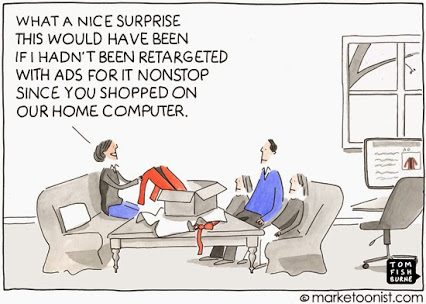 Retargeting can give away your gift-buying surprises.