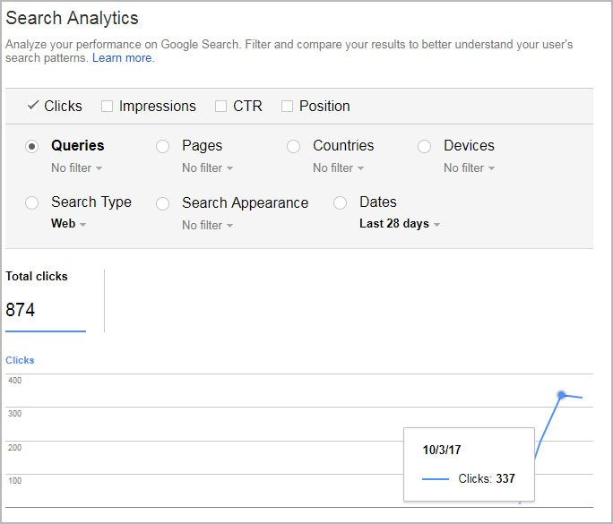 change google search console to https